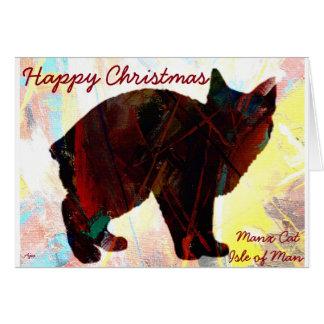 Manx Cat Greetings Cards
