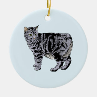 Manx Christmas Ornament