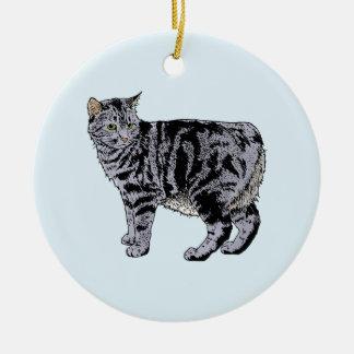 Manx Christmas Ornament