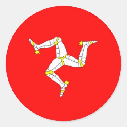 Manx Flag Sticker