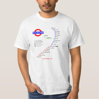 Manx Underground T-shirt
