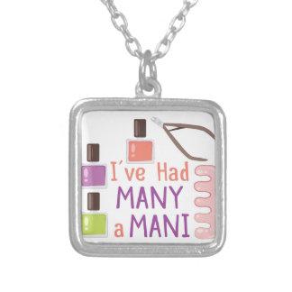 Many A Mani Square Pendant Necklace