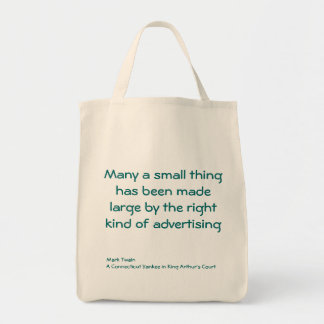 Many a small thing... canvas bag