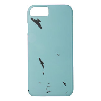 Many birds and a contrail iPhone 8/7 case