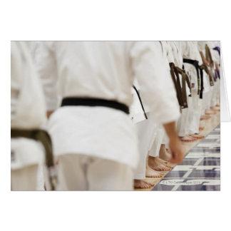 Many black belts cards