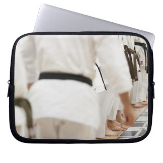 Many black belts laptop sleeve