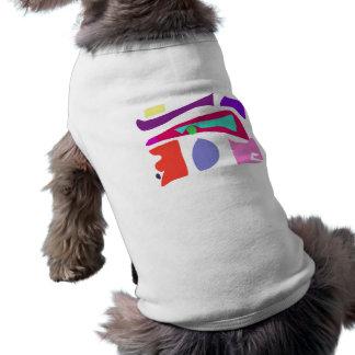Many Blessing Modern Joyful Sense Variations 28 Sleeveless Dog Shirt