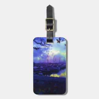Many boats luggage tag
