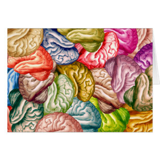 Many Brains Note Card