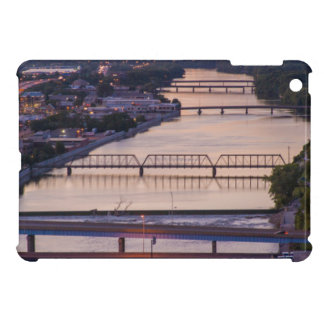 Many Bridges Span The Grand River, Sunset View Case For The iPad Mini