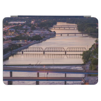 Many Bridges Span The Grand River, Sunset View iPad Air Cover