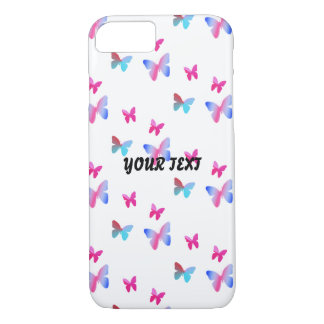 Many butterflies flying iPhone 8/7 case