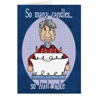 Many Candles Birthday Cards