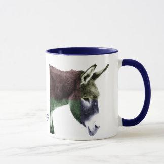 Many Colors Burro Donkey Mug