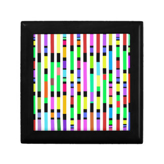 Many Colourful Stripes Gift Box