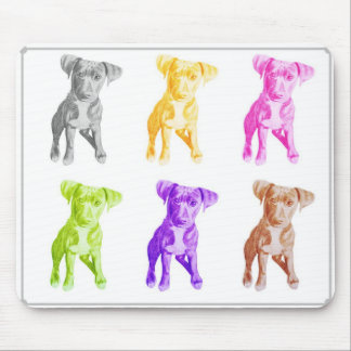 many colours of billy mouse mat