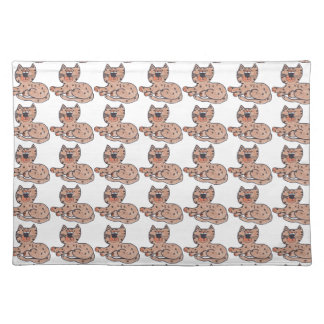 Many Cool Cats Place Mats