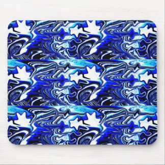 Many dancing water spirits mouse pad