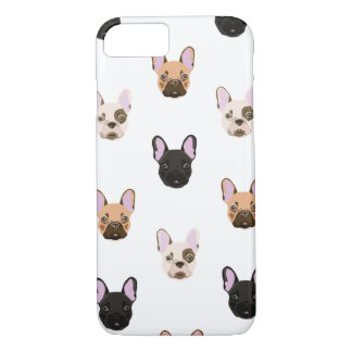 Many Frenchie Faces iPhone 8/7 Case