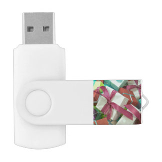 many gifts swivel USB 2.0 flash drive