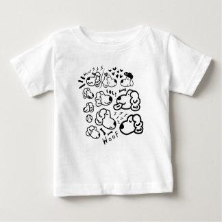 Many Golden Retrievers Baby T-Shirt