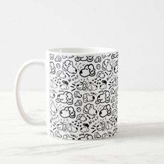 Many Golden Retrievers Pattern Coffee Mug