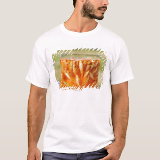Many goldfish which are in the glass container T-Shirt