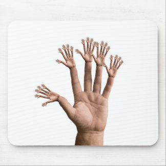 Many Hands Mouse Pad