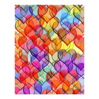 many hearts 21.5 cm x 28 cm flyer