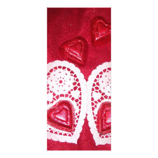 many hearts rack cards