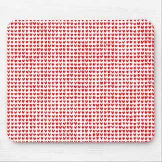 many hearts (red) mouse pad