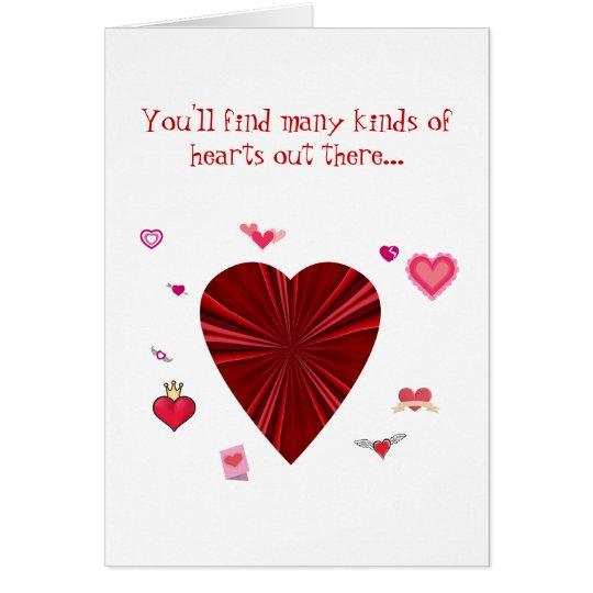 Many Hearts Valentine/Customise Card