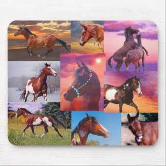 Many horses Mousepad