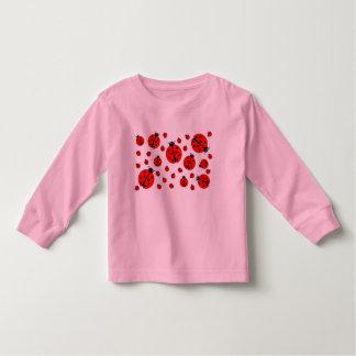 Many Ladybugs Shadows Toddler T-Shirt