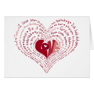 Many Languages of Love Card
