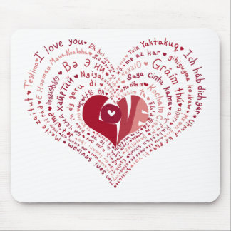 Many Languages of Love Mousepad