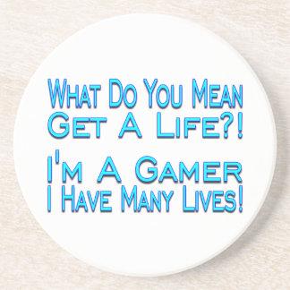 Many Lives Gamer Coaster