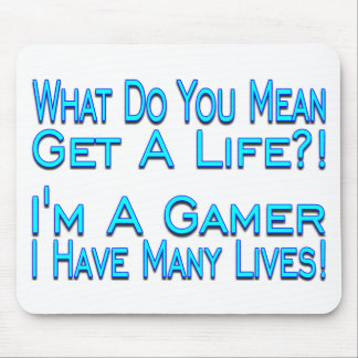 Many Lives Mouse Mat