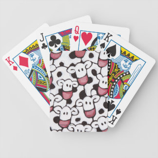 Many Many Cows Bicycle Playing Cards