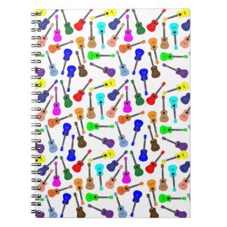 Many Many Ukuleles Note Book
