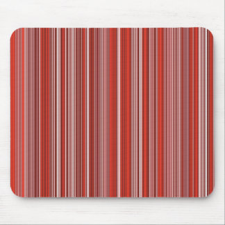Many multicolored strips in the red sample mouse pad