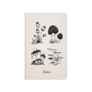 Many Mushrooms Simple Journal
