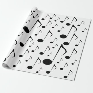 Many Music Notes Wrapping Paper