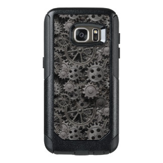 Many old rusty metal gears or machine parts OtterBox samsung galaxy s7 case
