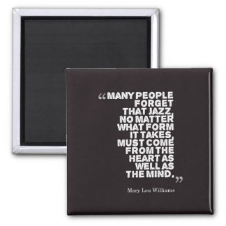Many People Forget... -MLWilliams Square Magnet