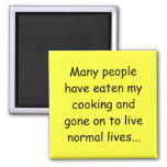 Many People Have Eaten my Cooking