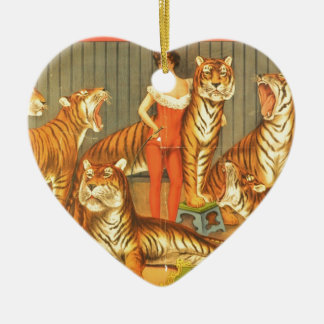 Many Pet Tigers Christmas Ornament