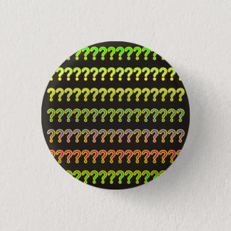 Many Questions 3 Cm Round Badge
