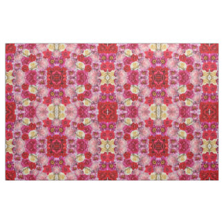 many roses print fabric