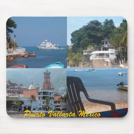 many scenes from puerto vallarta mousepad ...